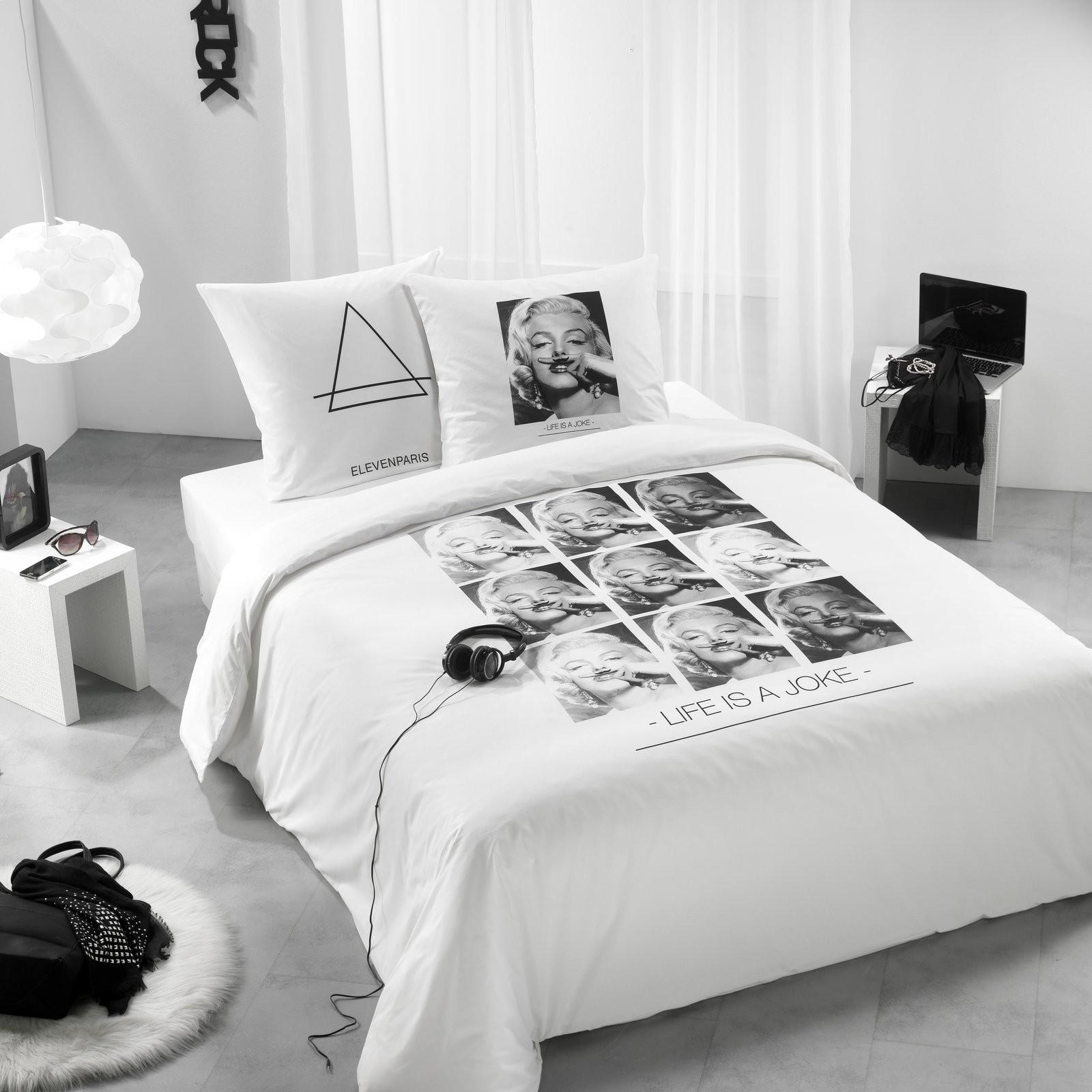 housse de couette marilyn eleven paris ebay. Black Bedroom Furniture Sets. Home Design Ideas